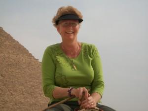 Di at the Pyramids