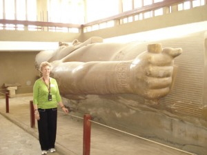 Di with Ramses in Egypt