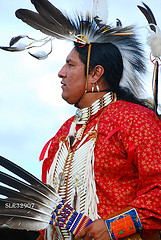 American Indian looking to a brighter future