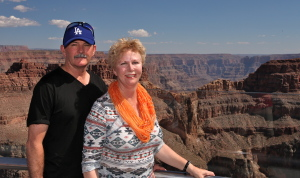 Di and Len Grand Canyon Oct 14